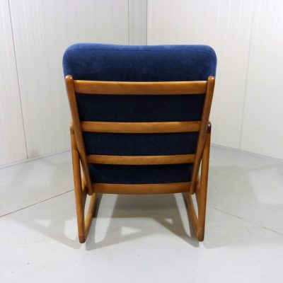 Ole Wancher Rocking Chair 120 Blue 1