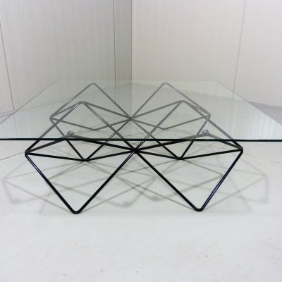 Paolo Piva Steel Wire Coffee Table 2