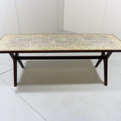 Berthold Muller Rectangular Mosaic Coffee Table 1
