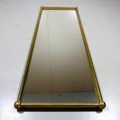 Brass Mirror Rectangular 1
