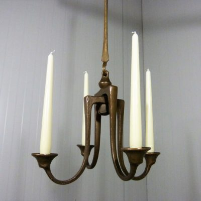 Bronze Hanging Candle Holder 3