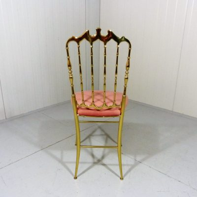 Chiavari Chair Brass Pink 1