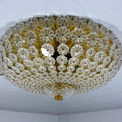 Glass Flower Ceiling Lamp 5