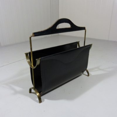 Jacques Adnet Magazine Rack 2
