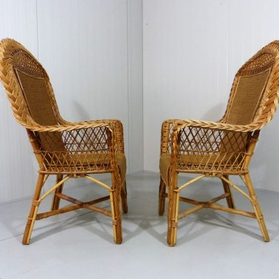 Large Rattan Chairs 1