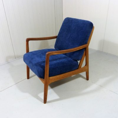 Ole Wancher Easy Chair FD109 Blue 1