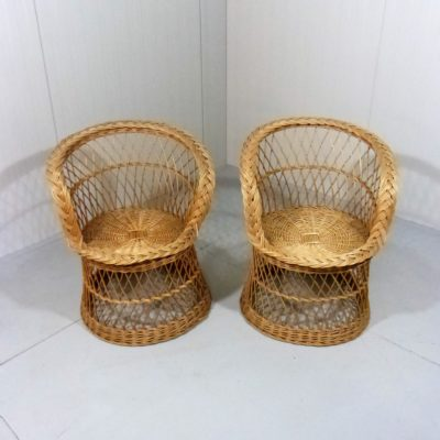 Rattan Basket Chairs 1