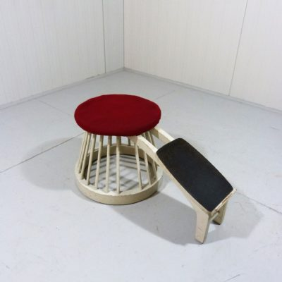 Shoe Store Stool 1