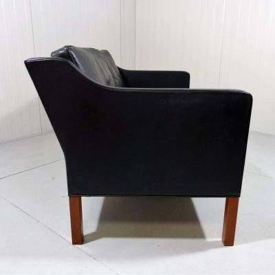 Sofa Børge Mogensen Fredericia black Leather 1