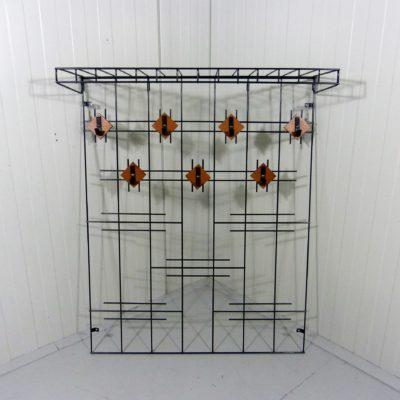 Steel Wire Wall Coat Rack 1