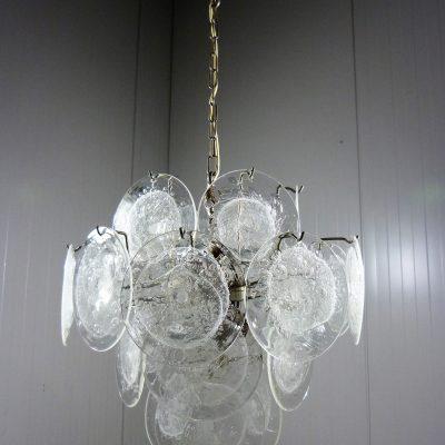 Vistosi Disk Hanging Lamp Clear 12