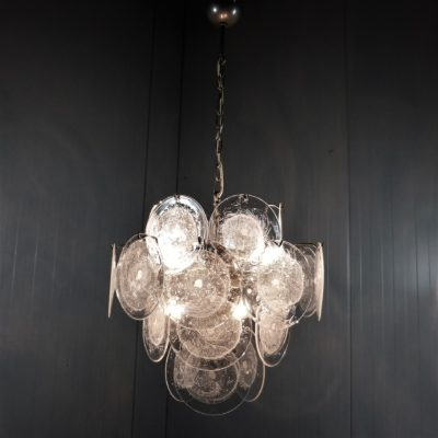 Vistosi Disk Hanging Lamp Clear 6