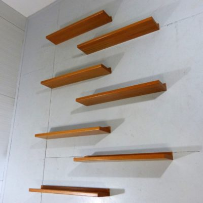 7 Teak Book Shelves 1