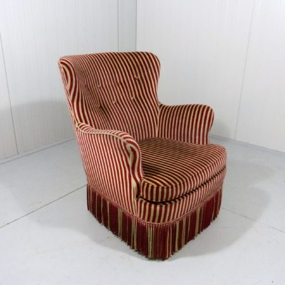 Artifort Easy Chair Stripes 1
