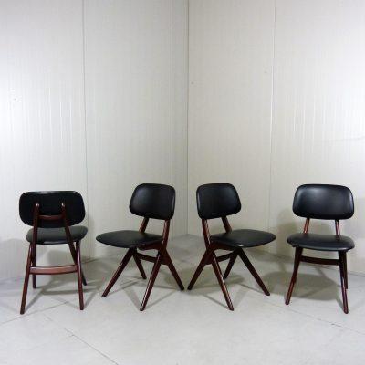 Scissor Dining Chairs Louis van Teeffelen 1