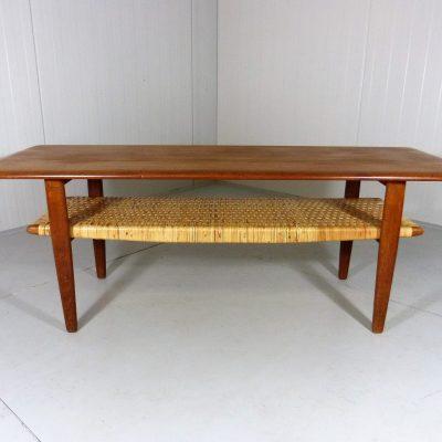 Teak Coffee Table Wegner Style 1
