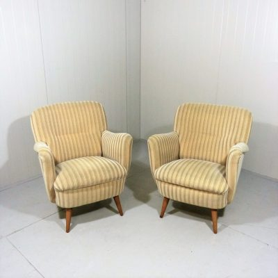 Beige Fifties Easy Chairs 1